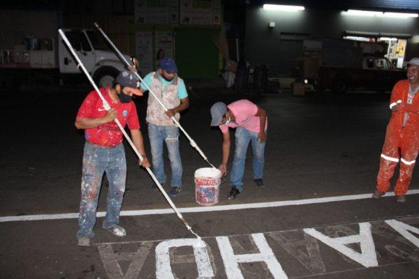 Mejora señalización de estacionamientos sobre Leonardo Castellanos