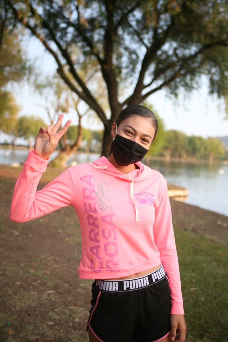 Jacona vive la Carrera Rosa 2020 para concientizar a la población sobre el cáncer de mama