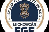 Obtiene Fiscalía General vinculación a proceso contra presunto responsable de Homicidio cometido en Jacona