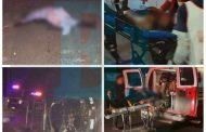 Dos policías muertos y dos heridos al volcar patrulla en Tangancícuaro