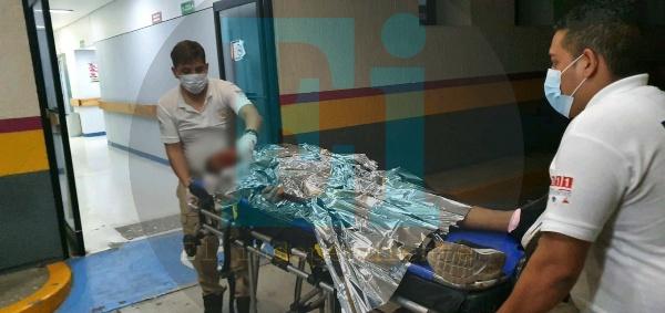 Joven recibe 4 balazos y queda herido, en Jacona