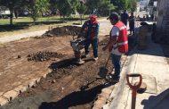 Rehabilita SAPAZ calle Cartagena poniente de Monte Olivo