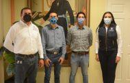 Jóvenes universitarios presentan proyecto de participación espacial a Alcaldesa Adriana Campos