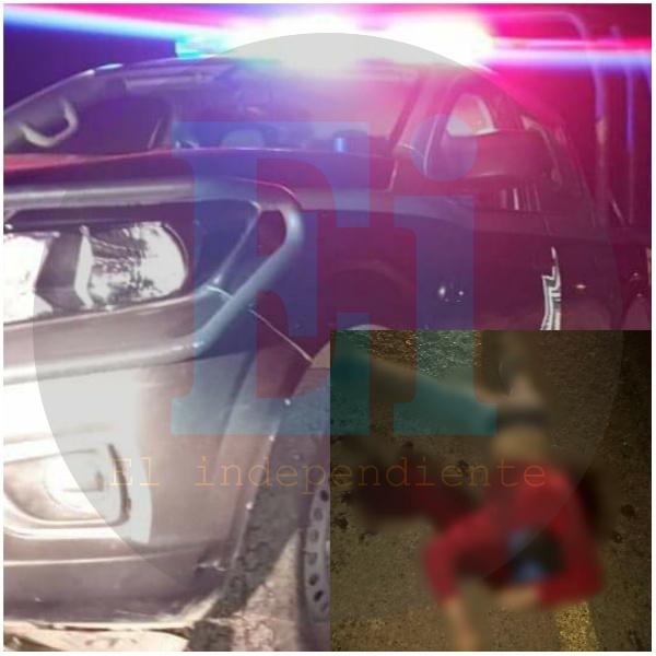 Menor de edad fallece tras accidente de moto en Tangancícuaro