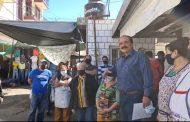 Atiende Alcalde llamado de locatarios en Mercado del Carmen