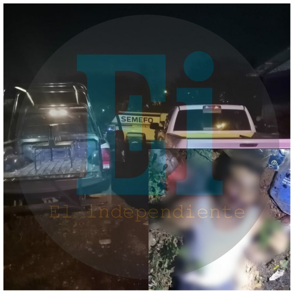 Con armas largas asesinan a un hombre joven en Tangamandapio