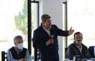 Escuchan y respaldan empresarios de Zamora el movimiento de Valentín Rodríguez.