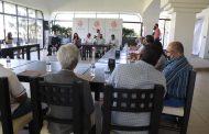 Reúne ayuntamiento zamorano a empresarios y Guardia Nacional