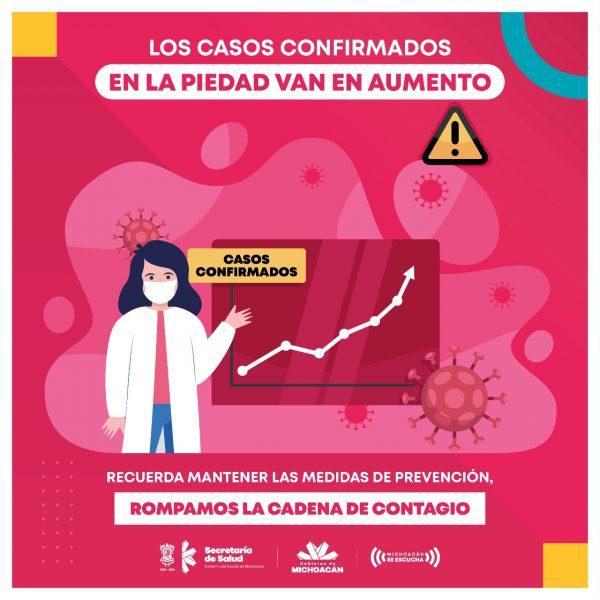 Llega Hospital General La Piedad a su máxima capacidad en camas COVID-19