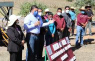 Avanza Feliciano Flores en la garantía del Derecho Humano al Agua.