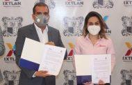 Ixtlán, segundo municipio en firmar convenio de colaboración con IMAIP