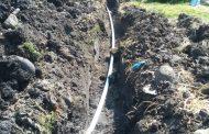 Tierras Blancas recibió obras para agua potable, alumbrado público y educación