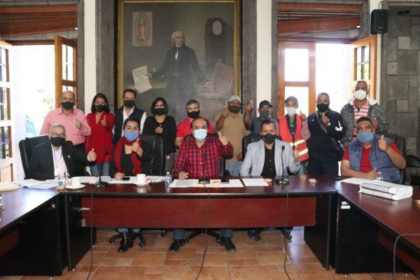 Autorizan jubilación de 7 trabajadores del Ayuntamiento