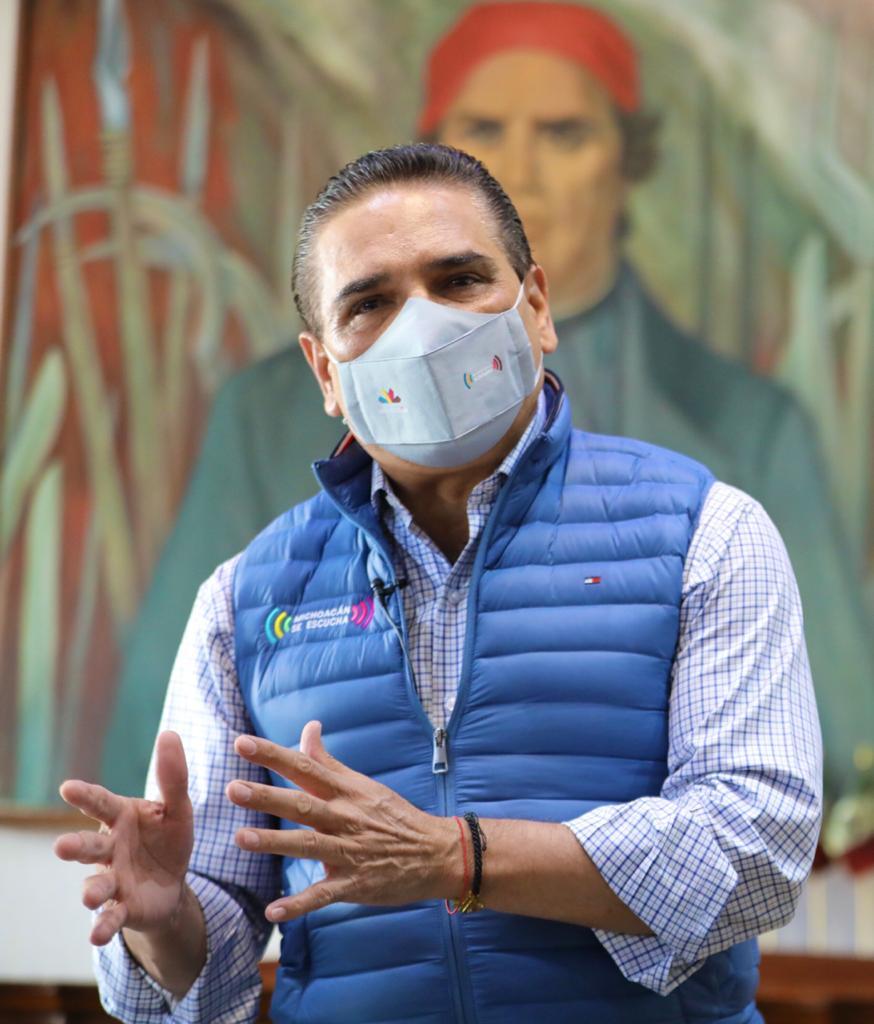 Michoacán, a punto de entrar a un escenario complejo por COVID-19: Silvano Aureoles