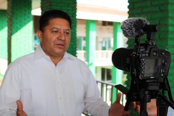 Impulsa Feliciano Flores, proyecto de saneamiento de aguas negras en Lázaro Cárdenas