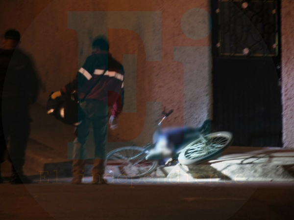 Pistoleros matan a un ciclista en las calles de Jacona