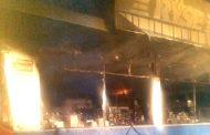 Se registra incendio en la tienda Ryse de Zamora
