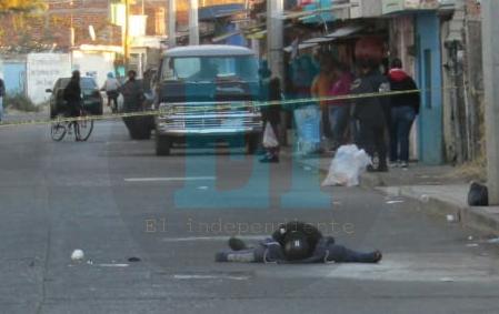 Motociclista es asesinado en la colonia Lázaro cárdenas de Zamora