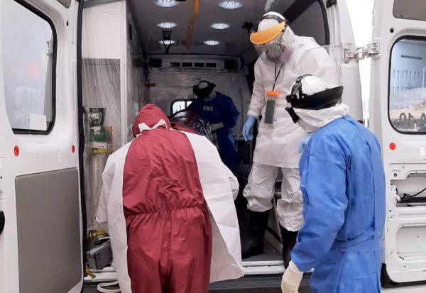 Llega ocupación hospitalaria COVID-19 a 75.5% en Morelia