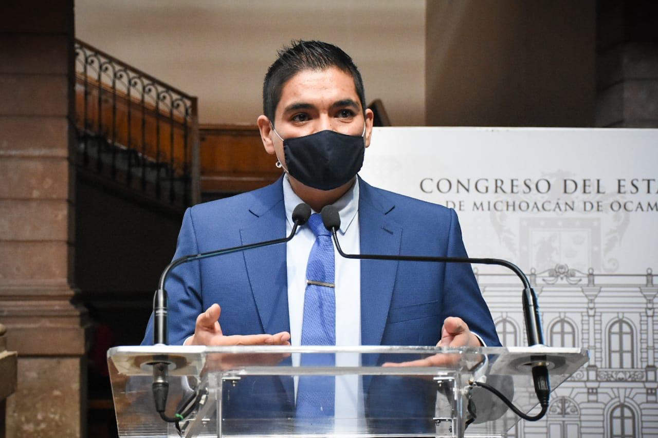 Arturo Hernández llama a michoacanos unirse para disminuir contagios y evitar más muertes por COVID-19