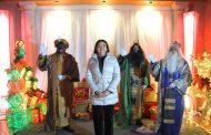 Los Reyes Magos llegan a Jacona con ayuda de la Presidenta Adriana Campos