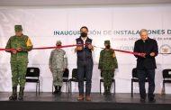 Inauguran cuartel de la Guardia Nacional; quedó asentado en Linda Vista