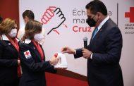 Llegó el momento de demostrar solidaridad con la Cruz Roja: Gobernador