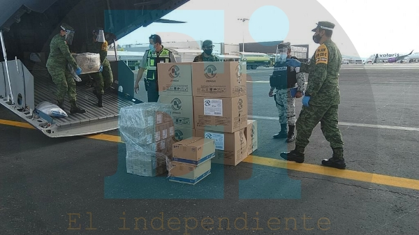 Arriban a Michoacán más de 14 mil dosis de vacunas contra el covid-19