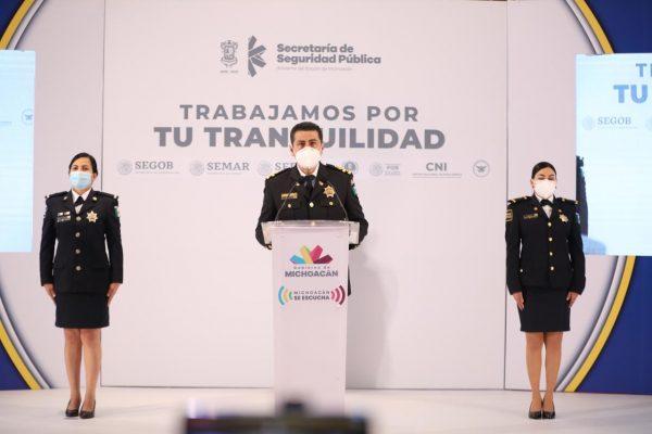 Estrategia de coordinación, cada vez más sólida en Michoacán: Israel Patron