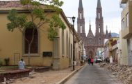 Calle Cazares será peatonal, arrancan los trabajos para cerrarla en zona centro