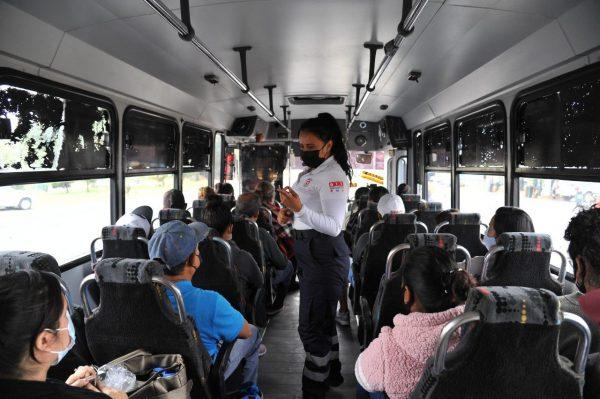 No paran los filtros al transporte público en Jacona