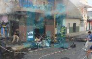 Se registra incendio de domicilio en la colonia Ramírez