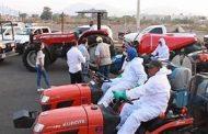 Mañana productores agrícolas iniciarán sanitización masiva en Zamora contra COVID