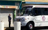 Refuerza Policía zamorana operativos preventivos contra COVID 19 en transporte público