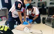 Seguirán detenidos cursos gratuitos de primeros auxilios en Cruz Roja