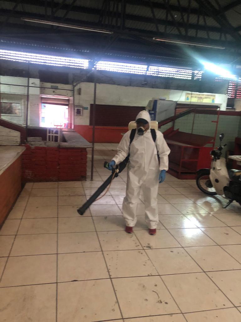 Avanzan trabajos de sanitización en Zamora