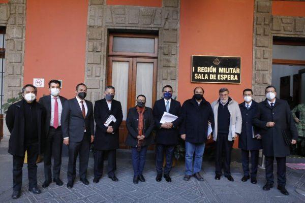 Expone Silvano a Gabinete de Seguridad Federal estrategia de mejora operativa