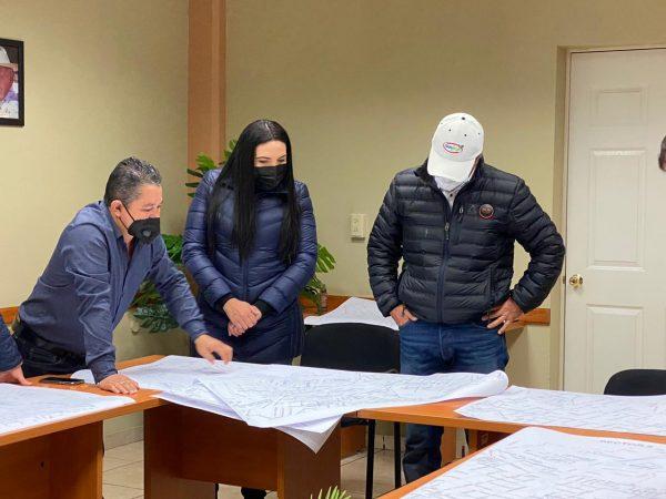 Agricultores y Ayuntamiento de Jacona realizaron plan estratégico de sanitización en todo el municipio