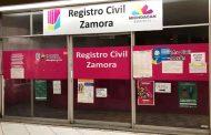 Extienden cierre de juzgados y Registro Civil trabajará a puerta cerrada