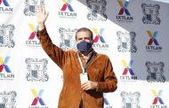 Ángel Macías encabezó inicio de construcción de cancha de usos múltiples en El Limón