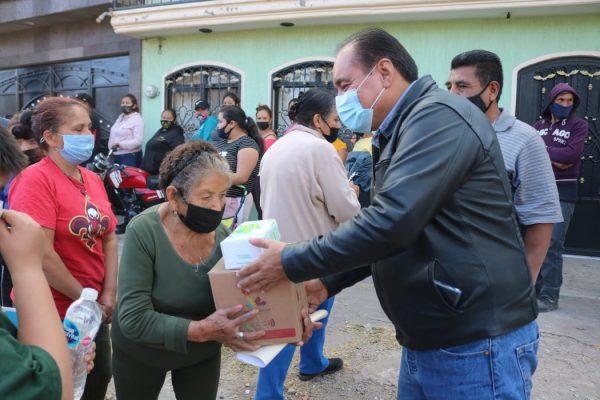 DIF Zamora mantiene apoyo alimentario