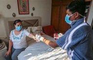 Casas convertidas en zonas de terapia intensiva ante recrudecimiento de COVID