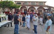 Inicia Sanitización en comunidades de Zamora
