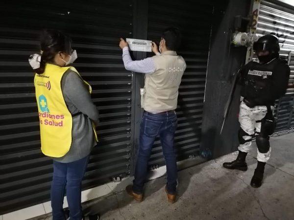 Suspendidos, 399 establecimientos por no cumplir medidas sanitarias