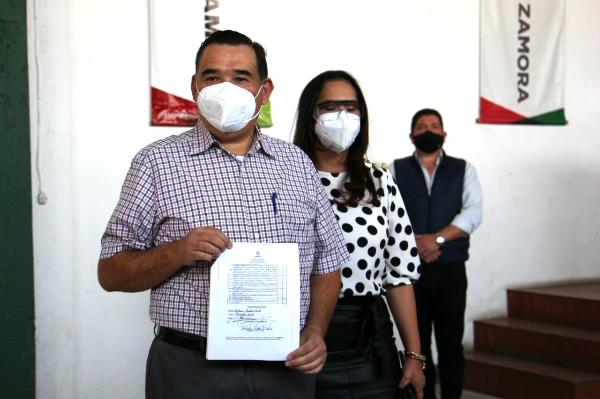 Vamos a ganar con un proyecto exitoso y apoyo de militancia priísta: Rubén Nuño