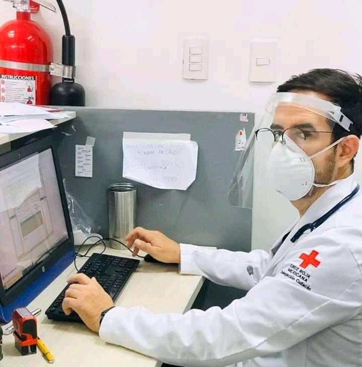 Prepara Cruz Roja su plan anual de capacitaciones virtuales