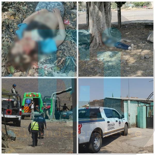 Un hombre y una mujer asesinados, dejan hechos violentos en Zamora