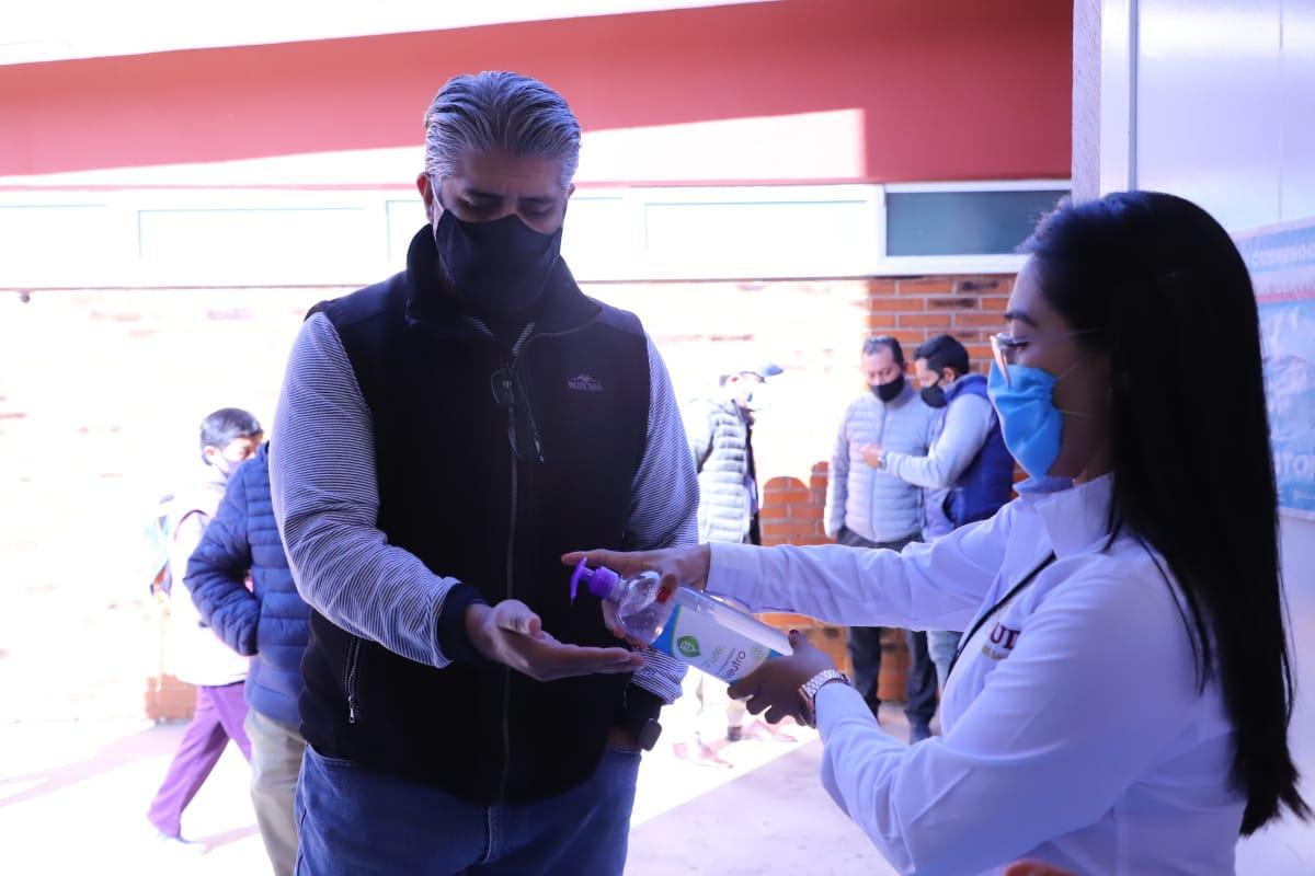 Suman más de 3 mil filtros sanitarios instalados en el primer mes del año