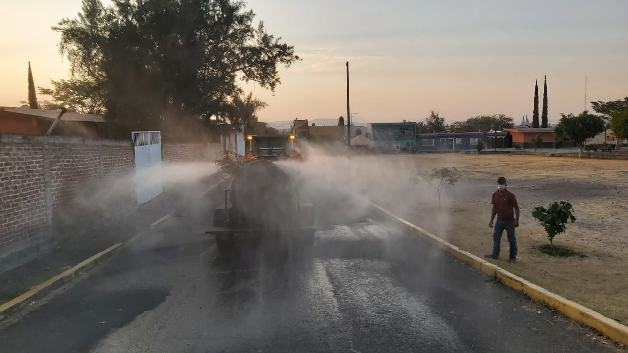 Ayuntamiento de Zamora sanitiza colonias y comunidades