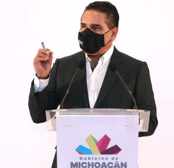 Endurece Michoacán medidas sanitarias durante febrero: Silvano Aureoles